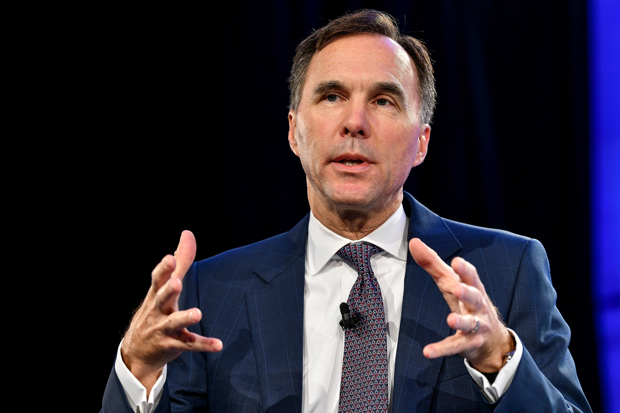 Bill Morneau Finance Minster