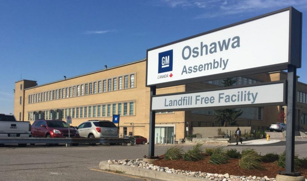 GM Oshawa in Durham Region