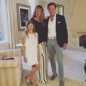 The Cohon family: Suzanne and her husband, Mark, along with their daughter Parker. (Supplied photo)