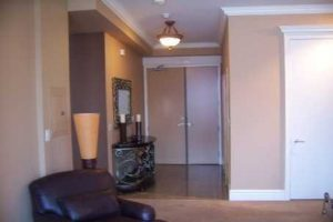 Hallway — Quite how the previous owner made it look so like a caravan is beyond us. With one eye on real estate value and another on simply banishing that flesh-toned beige, we set to work.