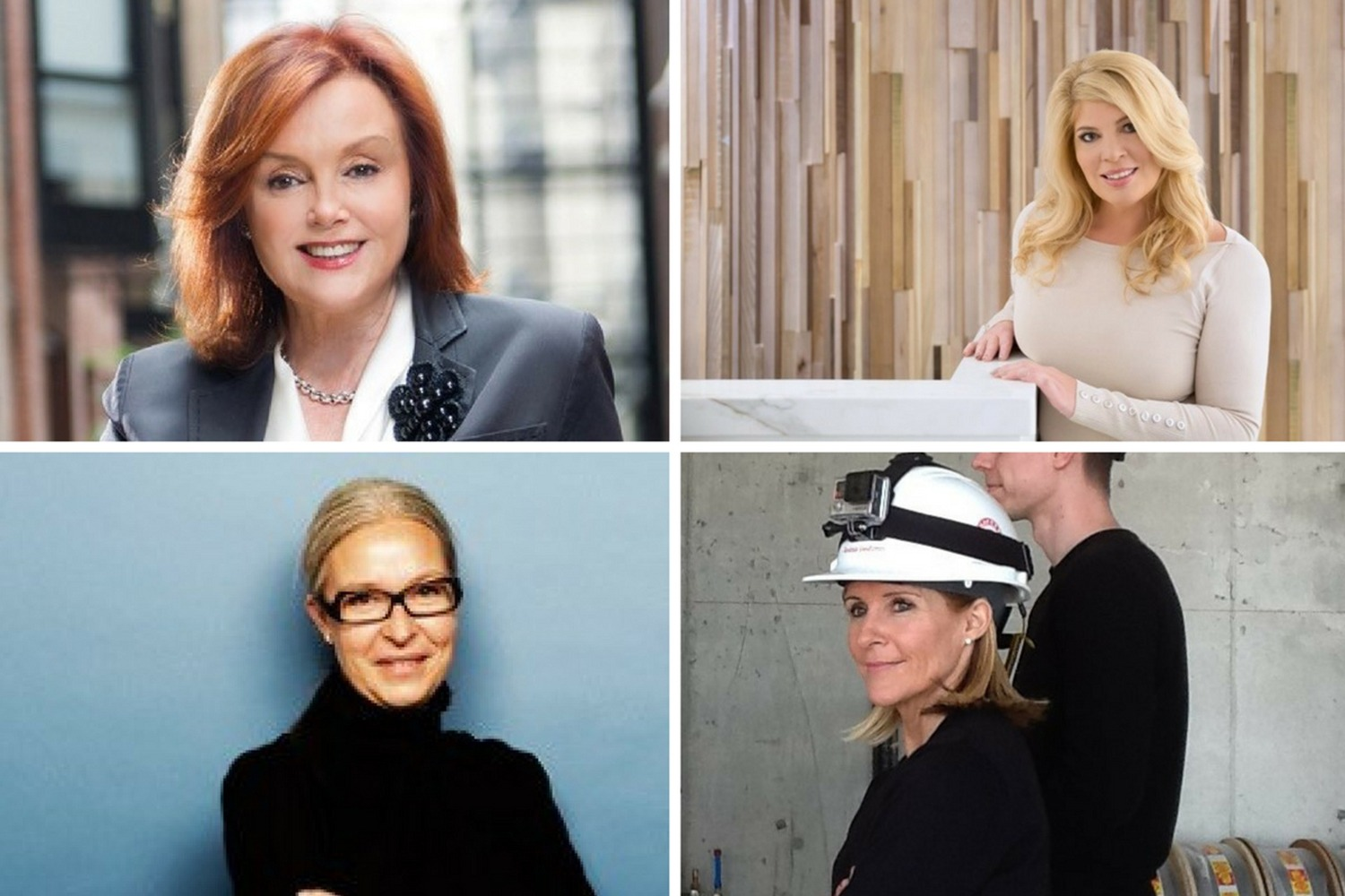 In recognition of International Women's Day, Toronto Storeys interviewed five major players in the city's real estate sector, to hear about their tremendous achievements, their words of advice, and who has inspired them in work and life. Clockwise from top left is Barbara Lawlor, Susan McIntee, Andrea DelZotto and Heather Rolleston. Not pictured is Julie Di Lorenzo.