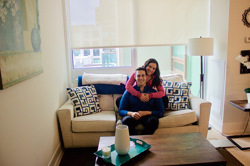 Before moving in together, Jen and Jonathan had to communicate some ground rules. The two agree that talking about each other's pet peeves and needs has really helped them with their current living situation.