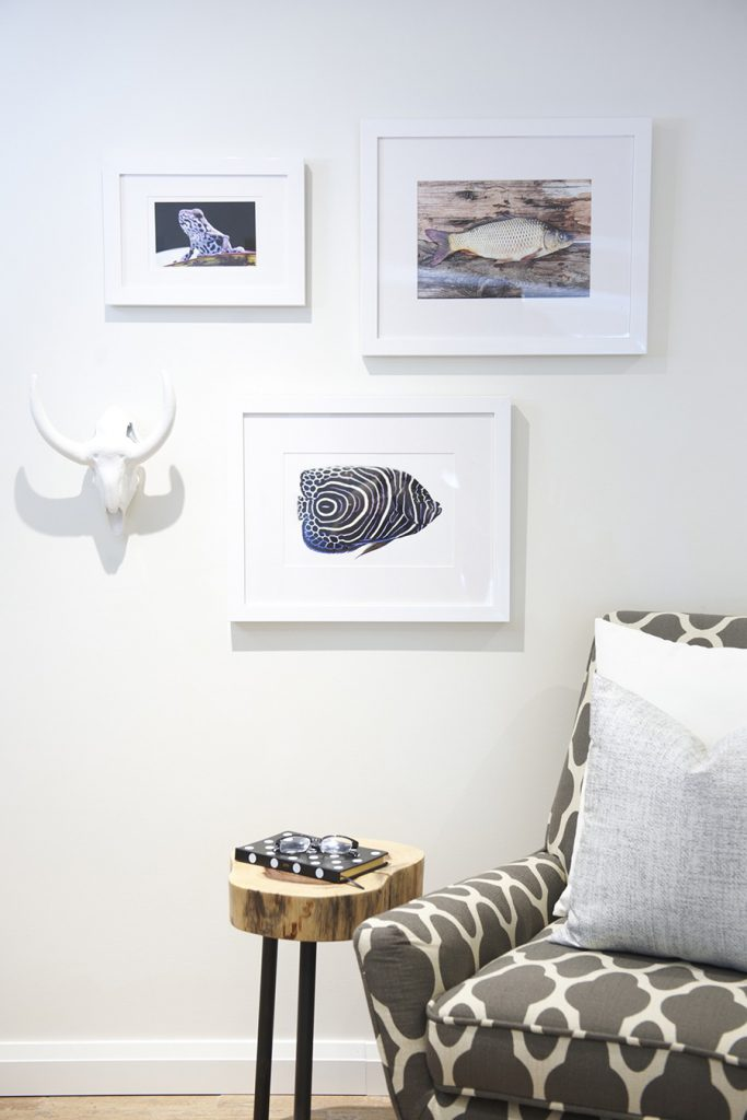 Bring the great outdoors into your cottage with some nature inspired art.