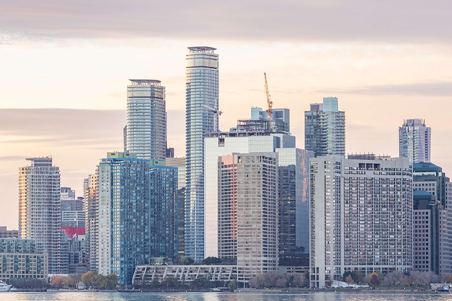 In condo land, the average price per square foot across the city of Toronto was found to be $629, a 26 per cent increase from the same time last year, reports RedPin.com.