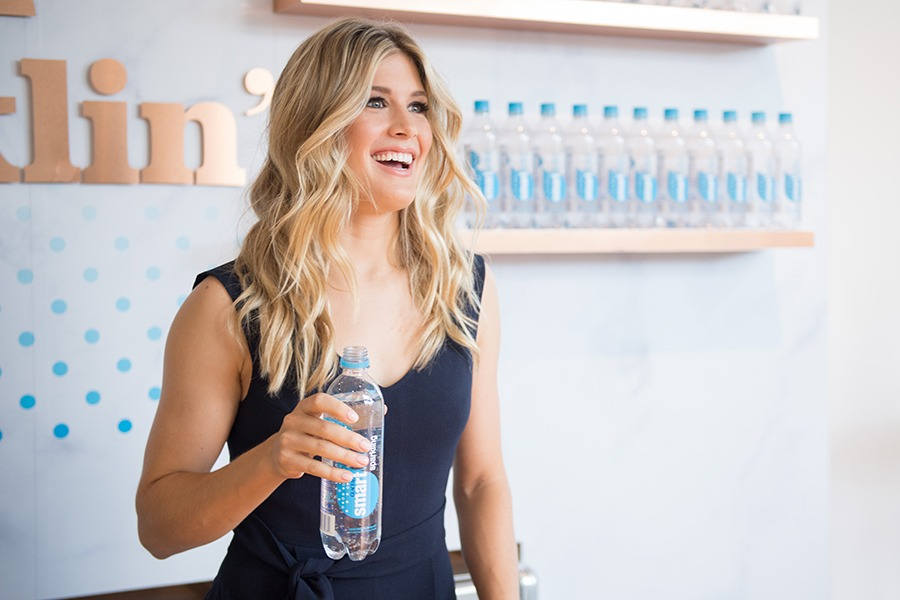 Montreal tennis beauty Eugenie Bouchard might only be 23 but her experience on the courts is unparalleled. Now repping SmartWater, Bouchard was the first Canadian at Wimbledon to make it to the Grand Slam singles finals in 2014. She recently lost her Rogers Cup opening match to Croatia's Donna Vekic.