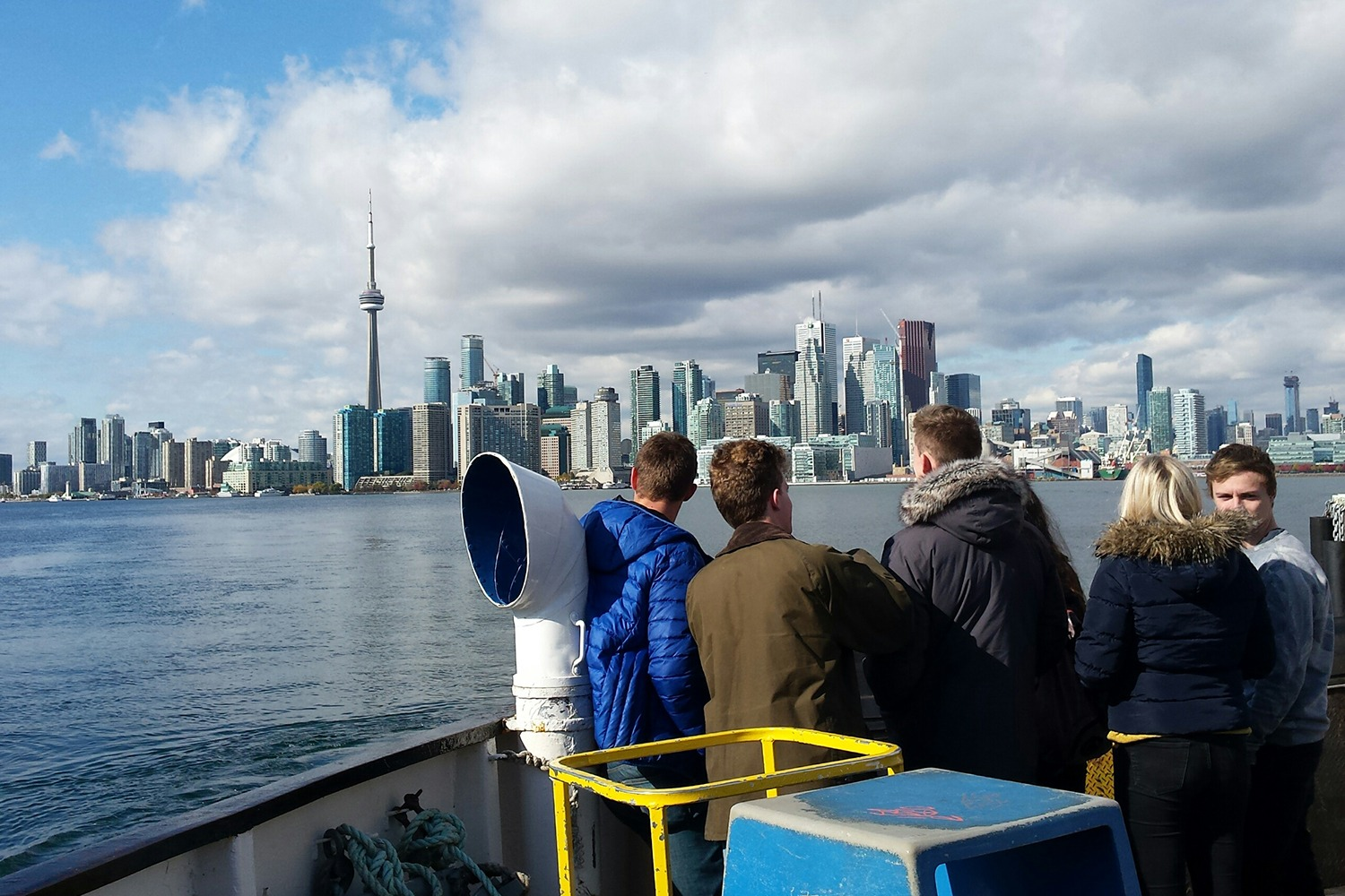 Ferries bring residents back and forth between downtown Toronto and the Islands. (Photo credit Linda Rosenbaum)