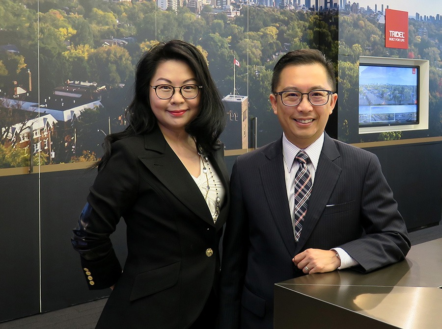 For more than 20 years, Winnie Chan and Winson Chan (no relation) have been important players within the Tridel organization. They have been celebrated numerous times for their demonstrated leadership within the industry.