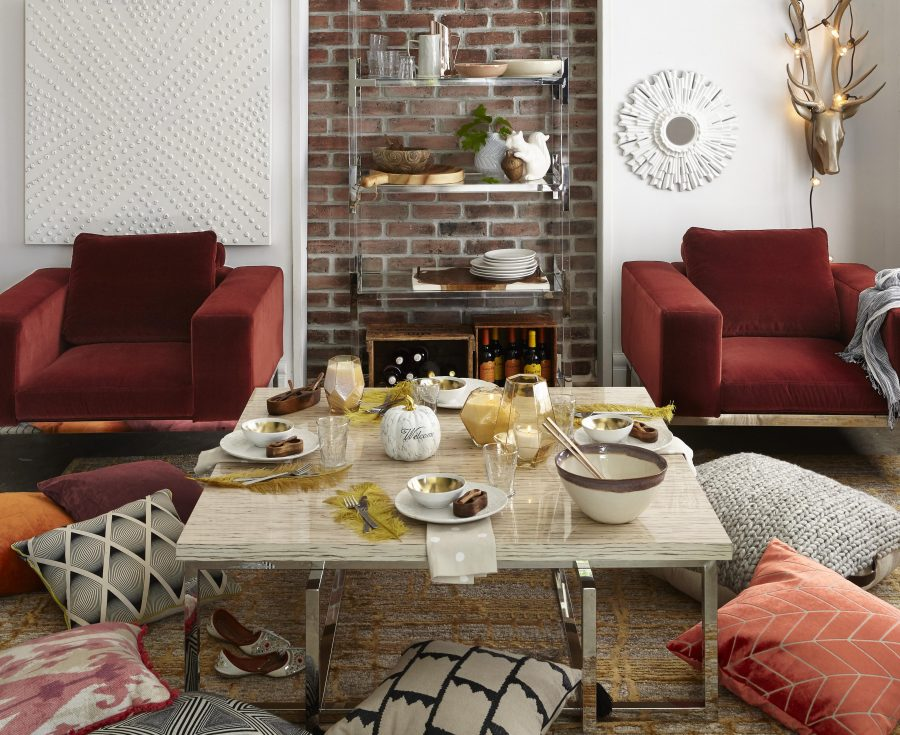 Velvet faux fur cozy up with fall 39 s design trends - Fall decor trends five tips to spruce up your homes ...