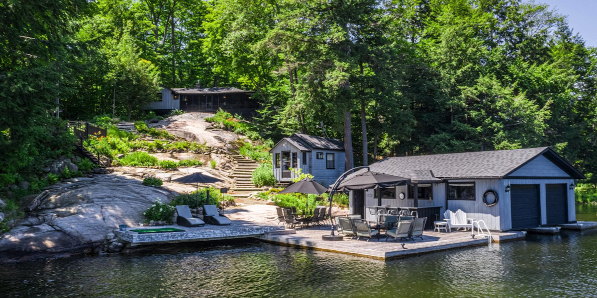 Muskoka waterfront