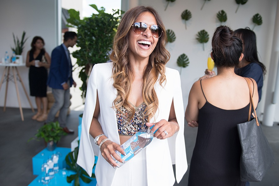 Party host Sangita Patel of ET Canada joined a list of well-known party-goers, including Real Housewife Kara Alloway and socialite Jake Mossop.
