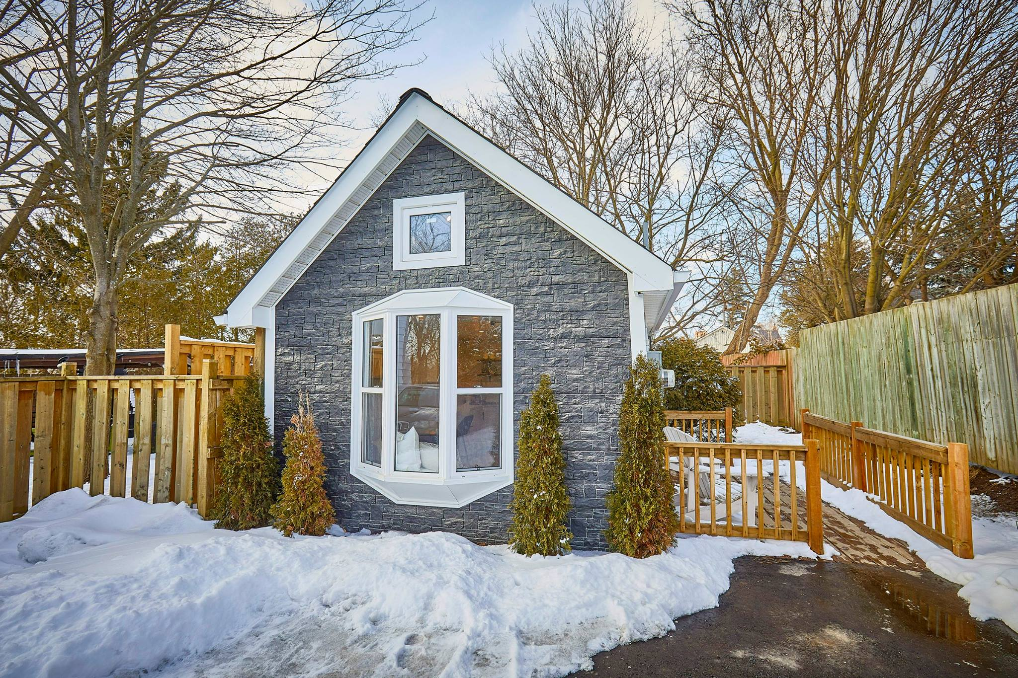 Superb This One Of A Kind Tiny Home In The Gta Could Be Yours For Download Free Architecture Designs Xaembritishbridgeorg