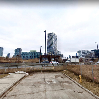 Eastern Avenue and Don River