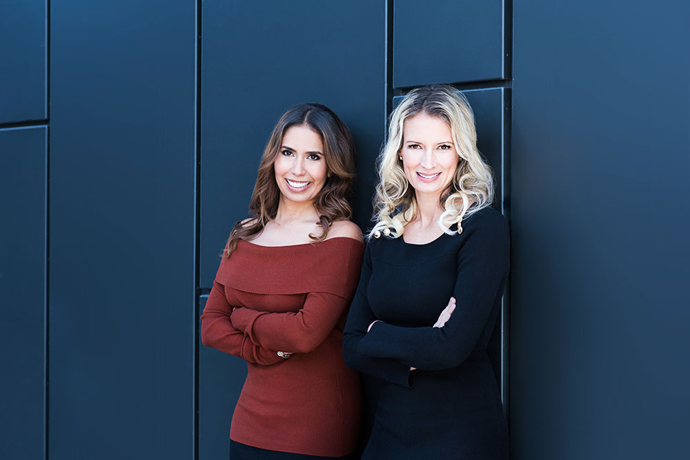 Together, Lorena Magallanes and Erica Smith have built Stomp Realty Inc. after meeting just over 10 years ago.